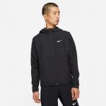 Nike Mens Repel Miler Running Jacket - BLACK/BLACK/REFLECTIVE SILVER Nike Mens Repel Miler Running Jacket - BLACK/BLACK/REFLECTIVE SILVER