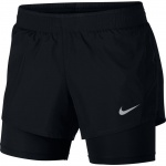 Nike Women's 10k 2-in-1 Running Short - BLACK Nike Women's 10k 2-in-1 Running Short - BLACK