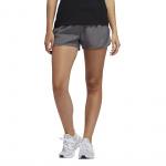 Adidas Women's 3-inch Run It Short - Grey Four/Real Pink Adidas Women's 3-inch Run It Short - Grey Four/Real Pink