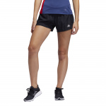Adidas Womens Run It 3-Stripes PB Short - BLACK Adidas Womens Run It 3-Stripes PB Short - BLACK