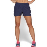 ASICS Womens SILVER 4-inch Running Short - Peacoat ASICS Womens SILVER 4-inch Running Short - Peacoat