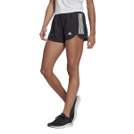 Adidas Womens Run IT 4-inch Short - BLACK/WHITE Adidas Womens Run IT 4-inch Short - BLACK/WHITE