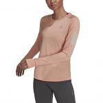 Adidas Womens Own the Run Longsleeve Tee - Ambient Blush Adidas Womens Own the Run Longsleeve Tee - Ambient Blush