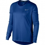 Nike Women's Miler Long-Sleeve Running Top - INDIGO FORCE/REFLECTIVE SILVER - AUG 19 Nike Women's Miler Long-Sleeve Running Top - INDIGO FORCE/REFLECTIVE SILVER - AUG 19