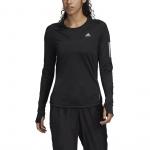 Adidas Womens Own the Run Long Sleeve Tee - BLACK Adidas Womens Own the Run Long Sleeve Tee - BLACK
