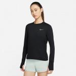 Nike Womens Dri-Fit Element Long Sleeve Running Top - BLACK/REFLECTIVE SILVER Nike Womens Dri-Fit Element Long Sleeve Running Top - BLACK/REFLECTIVE SILVER