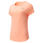 New Balance Womens Accelerate v2 Running Tee - GINGER PINK New Balance Womens Accelerate v2 Running Tee - GINGER PINK