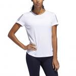 Adidas Womens Own the Run Tee - WHITE Adidas Womens Own the Run Tee - WHITE