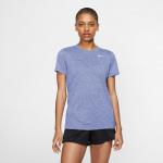 Nike Womens DRI-FIT Legend Crew Tee - LIGHT THISTLE/HTR/BLACK Nike Womens DRI-FIT Legend Crew Tee - LIGHT THISTLE/HTR/BLACK