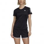 Adidas Womens Own the Run Tee - Black Adidas Womens Own the Run Tee - Black