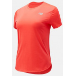 New Balance Womens Accelerate Running Tee - VIVID CORAL New Balance Womens Accelerate Running Tee - VIVID CORAL