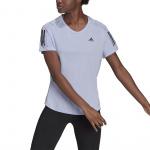 Adidas Womens Own the Run Tee - Violet Tone Adidas Womens Own the Run Tee - Violet Tone