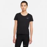 Nike Womens Dri-Fit Run Division Running Top - BLACK/BRIGHT CRIMSON/REFLECTIVE SILVER Nike Womens Dri-Fit Run Division Running Top - BLACK/BRIGHT CRIMSON/REFLECTIVE SILVER