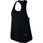 Nike Women's MILER Running Tank - BLACK/REFLECTIVE SILVER Nike Women's MILER Running Tank - BLACK/REFLECTIVE SILVER