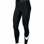 Nike Women's Leg-a-see Longtights - BLACK/WHITE Nike Women's Leg-a-see Longtights - BLACK/WHITE