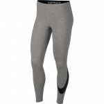 Nike Women's Leg-a-see Longtights - DK GREY HEATHER/BLACK Nike Women's Leg-a-see Longtights - DK GREY HEATHER/BLACK