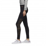 Adidas Womens Essentials Branded Tight - Black/Copper Met. Adidas Womens Essentials Branded Tight - Black/Copper Met.