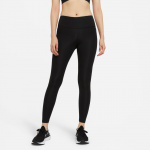 Nike Womens Epic Fast Mid-Rise Tights - BLACK/REFLECTIVE SILVER Nike Womens Epic Fast Mid-Rise Tights - BLACK/REFLECTIVE SILVER