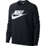 Nike Women's Sportswear Rally Crew - BLACK/WHITE Nike Women's Sportswear Rally Crew - BLACK/WHITE