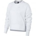 Nike Women's DRI-FIT Long-Sleeve GRX  TOP - WHITE/PURE PLATINUM - MAY 19 Nike Women's DRI-FIT Long-Sleeve GRX  TOP - WHITE/PURE PLATINUM - MAY 19
