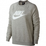 Nike Women's Sportswear Rally Crew - GREy HEATHER/WHITE - MAY 19 Nike Women's Sportswear Rally Crew - GREy HEATHER/WHITE - MAY 19
