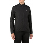 ASICS Womens Silver Running Jacket - Performance Black ASICS Womens Silver Running Jacket - Performance Black