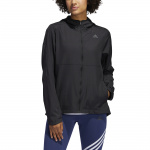 Adidas Womens Own The Run Wind Jacket - Black Adidas Womens Own The Run Wind Jacket - Black