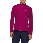 ASICS Womens Silver Running Jacket - Dried Berry ASICS Womens Silver Running Jacket - Dried Berry
