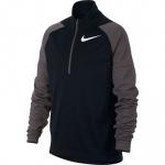 Nike Boys DRI-FIT Long-Sleeve Running Top - BLACK/THUNDER GREY Nike Boys DRI-FIT Long-Sleeve Running Top - BLACK/THUNDER GREY