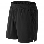 New Balance Men's Core 2 In 1 Woven 7-inch Running Short - BLACK New Balance Men's Core 2 In 1 Woven 7-inch Running Short - BLACK