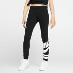 Nike Girls' Graphic Leggings - Black/White Nike Girls' Graphic Leggings - Black/White