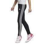 Adidas Girls Training Equipment 3-Stripes Tight - BLACK/WHITE Adidas Girls Training Equipment 3-Stripes Tight - BLACK/WHITE