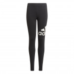Adidas Girls Essentials Big Logo Leggings - BLACK/WHITE Adidas Girls Essentials Big Logo Leggings - BLACK/WHITE