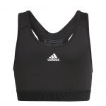 Adidas Girls Believe This Sports Bra - Black/White Adidas Girls Believe This Sports Bra - Black/White
