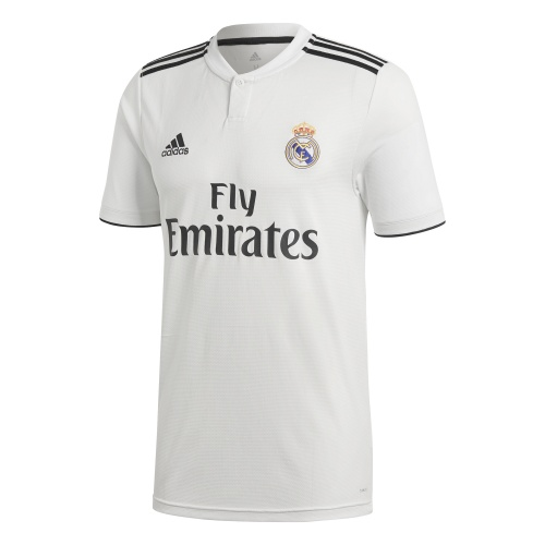 ADIDAS REAL MADRID HOME SHORT SLEEVE JERSEY - 2018/2019 @ Sportsmart | Tuggl