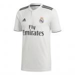 Adidas Real Madrid Home Short Sleeve Jersey - 2018/2019 Adidas Real Madrid Home Short Sleeve Jersey - 2018/2019