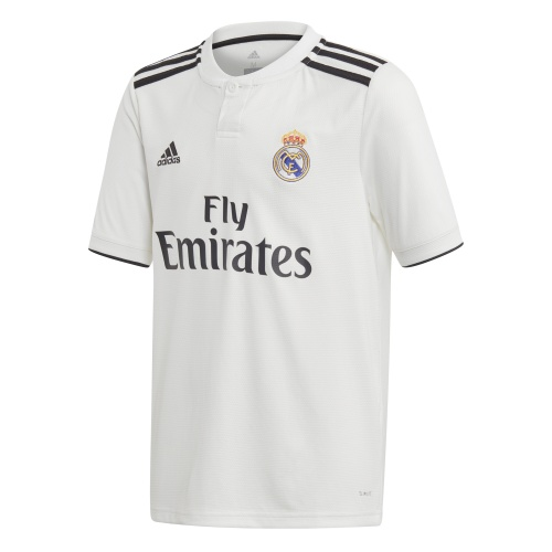 Adidas Real Madrid FC Kids Home Short Sleeve Jersey - 2018/2019
