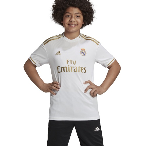 buy popular 37b81 624af Adidas Real Madrid FC Kids HOME JERSEY - 2019