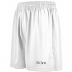 Mitre Metric Junior Short - WHITE Mitre Metric Junior Short - WHITE