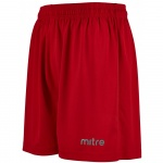 Mitre Metric Junior Short - SCARLET Mitre Metric Junior Short - SCARLET
