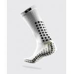 TRUSOX Mid Calf Soccer Sock - WHITE TRUSOX Mid Calf Soccer Sock - WHITE