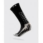 TRUSOX Mid Calf Soccer Sock - BLACK TRUSOX Mid Calf Soccer Sock - BLACK