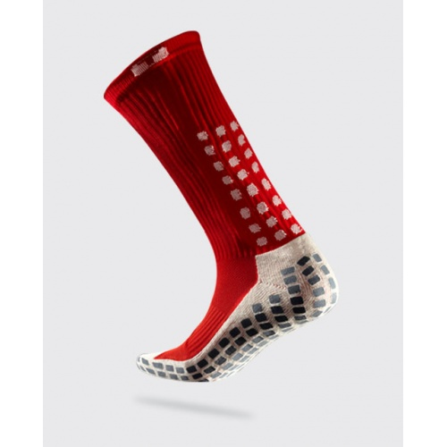 TRUSOX Mid Calf Soccer Sock - RED