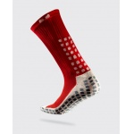 TRUSOX Mid Calf Soccer Sock - RED TRUSOX Mid Calf Soccer Sock - RED