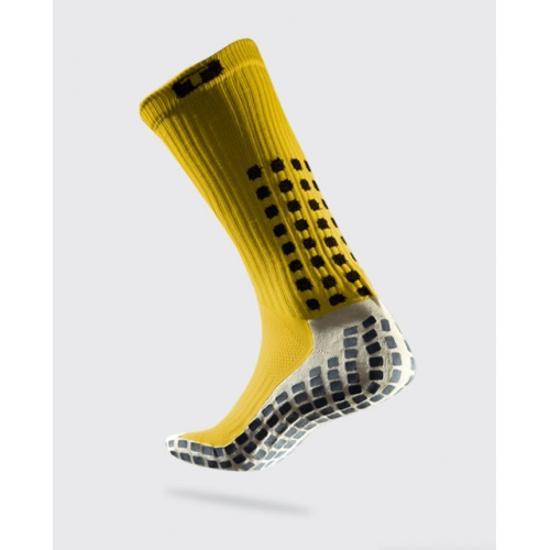 dace81b740c0 TRUSOX Mid Calf Soccer Sock - YELLOW