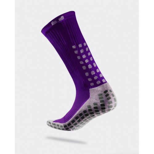 TRUSOX Mid Calf Soccer Sock - PURPLE