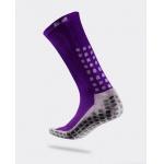 TRUSOX Mid Calf Soccer Sock - PURPLE TRUSOX Mid Calf Soccer Sock - PURPLE