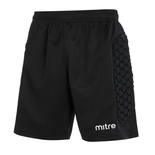 Mitre Guard Adults Padded Goalkeeper Short - BLACK