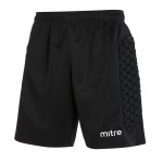 Mitre Guard Adults Padded Goalkeeper Short - BLACK Mitre Guard Adults Padded Goalkeeper Short - BLACK