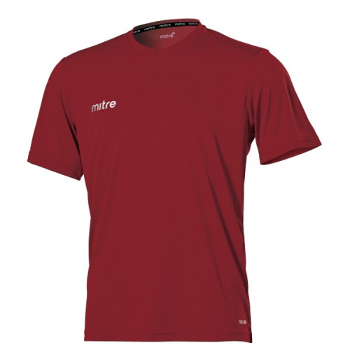 Mitre Metric Junior Playing Shirt - Maroon